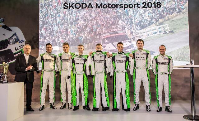 vitória no WRC 2 e 13 títulos em Campeonatos Nacionais