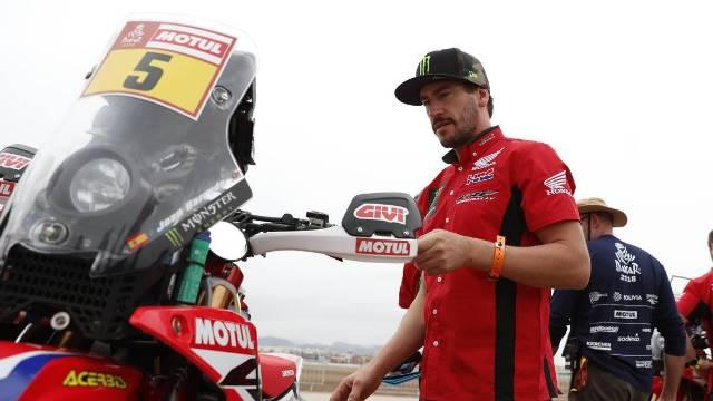 E foi assim o 2º dia da 40ª edição do Dakar para as MOTO's: