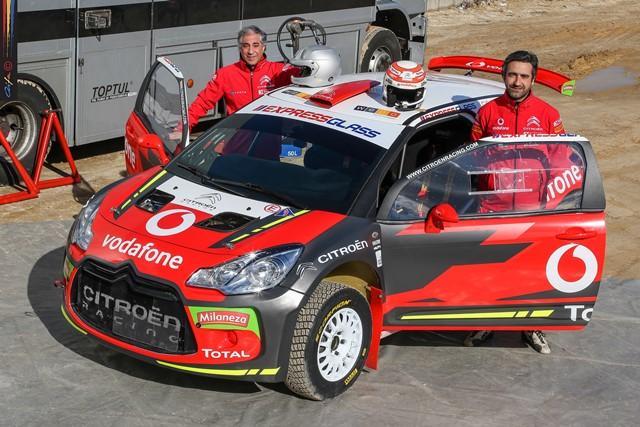 Citroen Vodafone Team aposta num regresso em grande