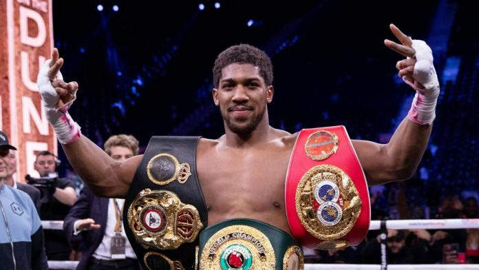 Anthony Joshua Could Relinquish His Title To Fight Tyson Fury-Promoter Reveals