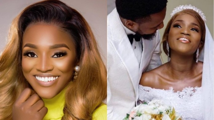 ICYMI: Popular Actress Gets Married To Her Fiancé Of 11 Years (Photos)