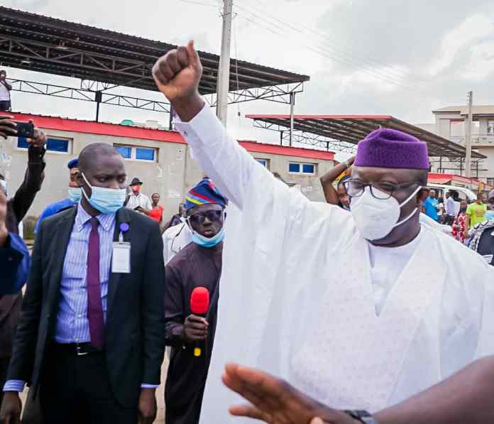 EndSARS: It Is Your Right To Protest- Gov. Fayemi Backs Protesters
