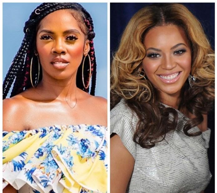 EndSARS: Moment Tiwa Savage Calls On Beyoncé Amid Police Brutality Protests-See Video