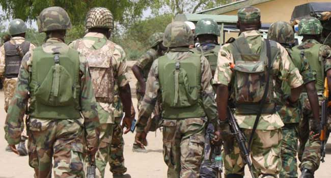 Troops Kill Bandits, Recover Weapons