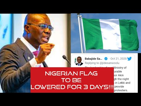 Just In: Nigeria Flag To Be Lowered For 3 Days