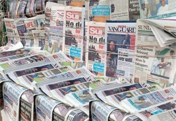 Newspapers Headlines Today, October 15 2021