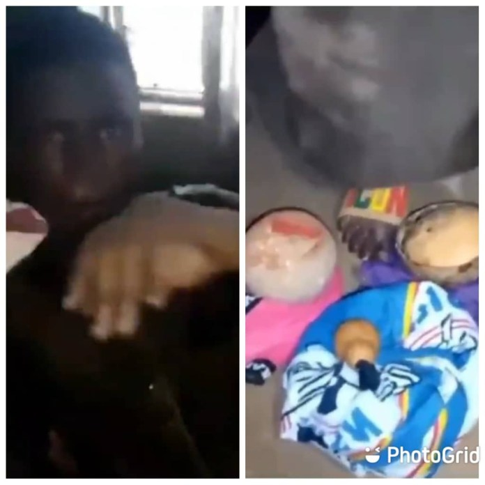 Student Caught Trying To Use His Roommate For Money Ritual-See Video