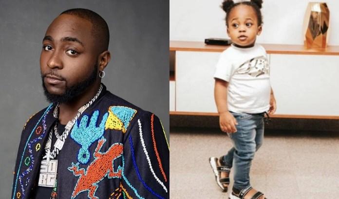 See Sophia Momodu Reaction As Davido Declares Chioma's Son His 'Heir Apparent'