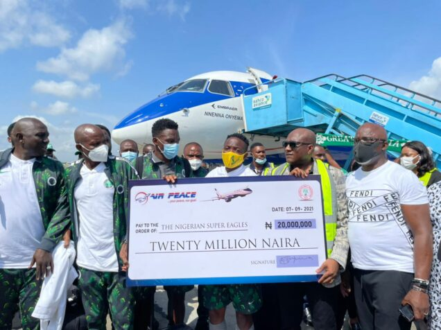 Update: Air Peace Boss Fulfills Promise, Splashes N20m On Victorious Super Eagles