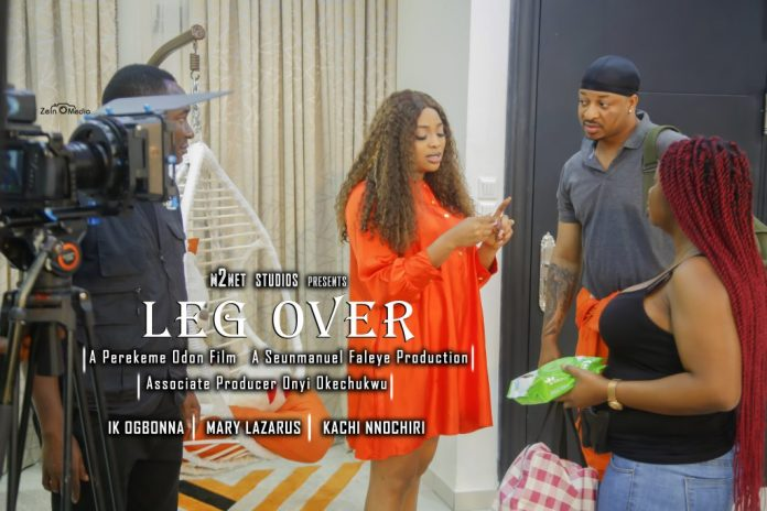 Seunmanuel Faleye Unveils IK Ogbonna, Mary Lazarus Others As Cast Of New Romantic Thriller, Leg Over