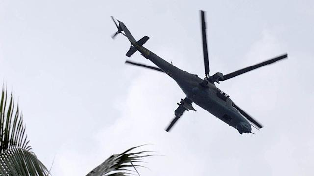 Military Helicopter Crashes, Five Dead(See More Details Here)