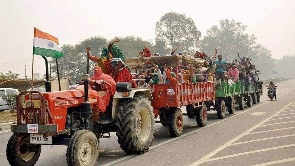 Farmers tractor parade on Republic Day in Delhi, know what will be the route