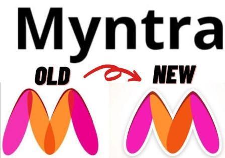 Amazon changed the logo following Myntra