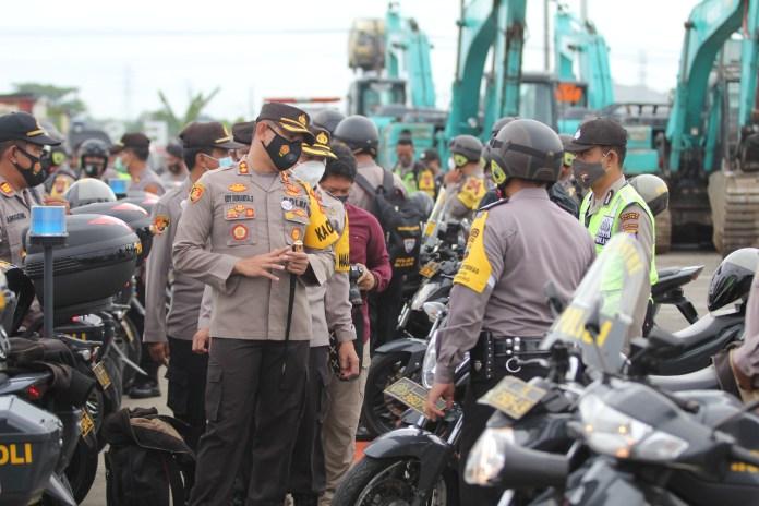 235 Motor Polres Klaten Siap Digunakan Pengamanan Pilkada