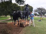 "Lawns Ltd. Donates The Final Touch To ""Branding the Brazos."""