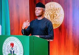 Vice-President Yemi Osinbajo Adviced  Nigerians to rethink Over Break up.