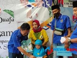 PWI Sampang Bersama Pemkab Setempat Santuni Anak Yatim dan Kaum Duafa
