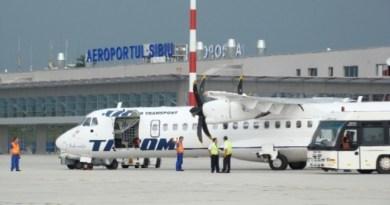 Incident grav la Sibiu: Un român a vrut să fure un avion și să fugă în Germania