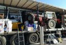 Șofer român de camion, prins cu un miniexcavator și cu un elevator furate din Italia