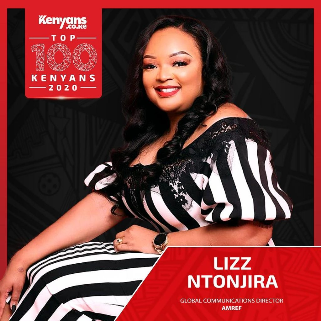 Lizz Ntonjira, Author #YOUTHCAN. 2020 100 Most Influential Kenyans.