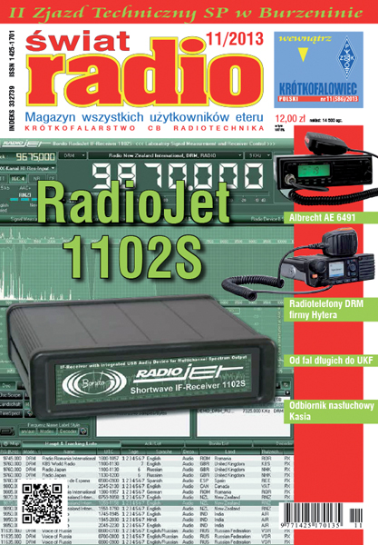 RadioJet 1102S auf Swiat Radio Magazin Cover