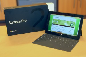 Microsoft Surface 2 angekommen