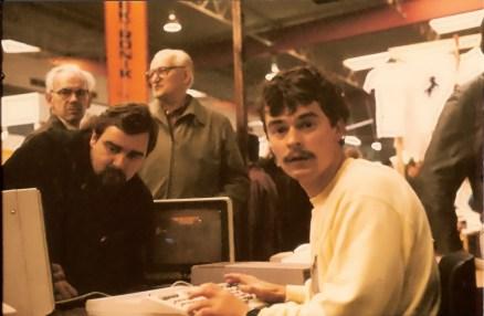 Bonito Interradio 1985 Jens Sieler-Hornke (DL8OAS) am Bonito Stand