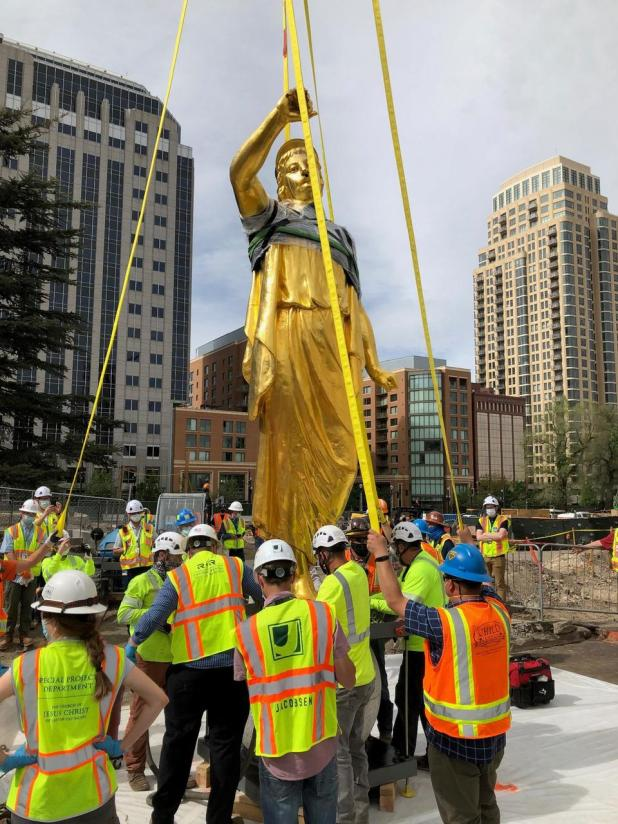 Leslienilsson_Removing Capstone-Angel Moroni