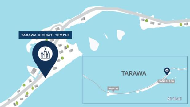 Tarawa Kiribati Temple Map 2