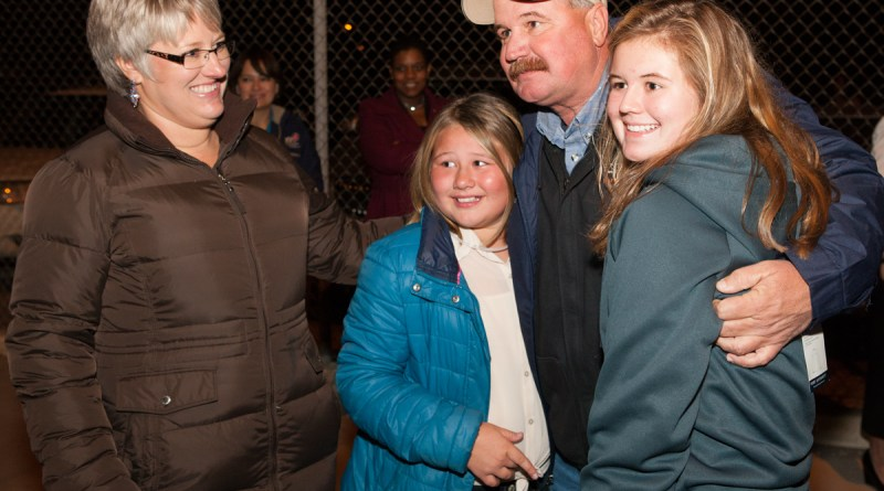 (Image) CPS Energy employee with family, CPS Energy employee