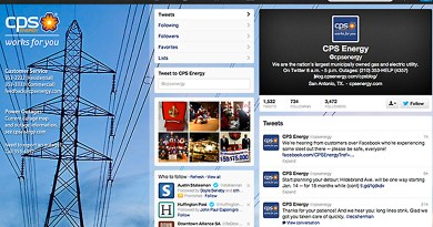 (Image) CPS Energy now interacts with customers on multiple social media sites.