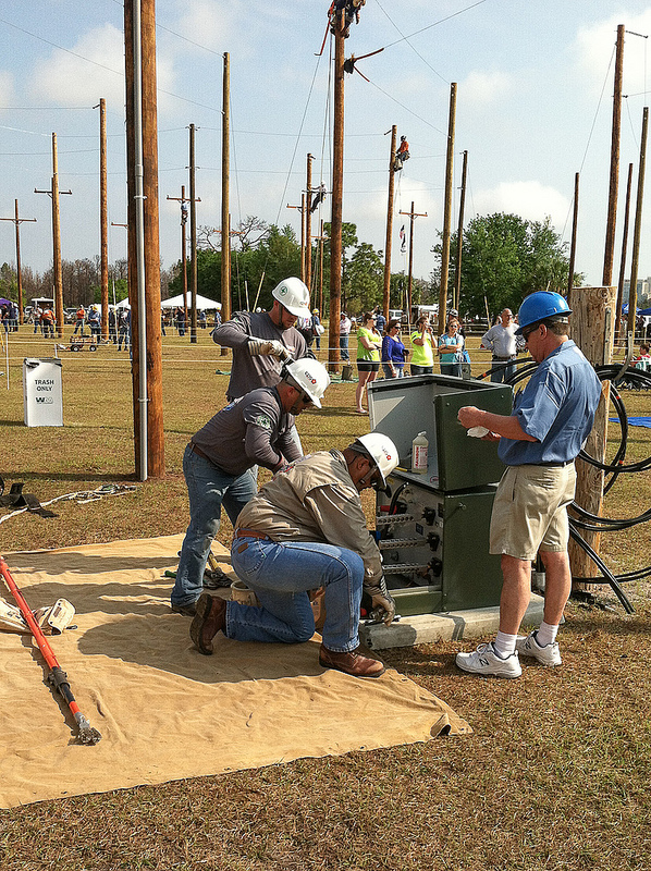 Cps Energy Linemen Compete To Test And Hone Their Skills