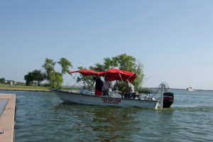 (Image) Shawn Reese guarantees visitors will catch fish on his tours.