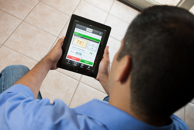 (Image) Customers can now see their energy use and make adjustments with the new Home Manager app.