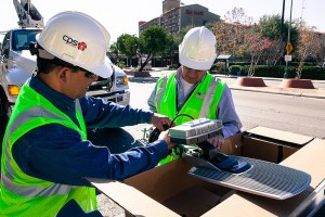 (Image) CPS Energy partnered with GreenStar, recently acquired by Toshiba Lighting, to install LED lighting in San Antonio streetlights.
