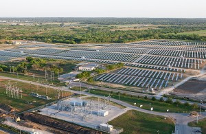 Centennial solar farm, owned and run by CPS Energy partner SunEdison