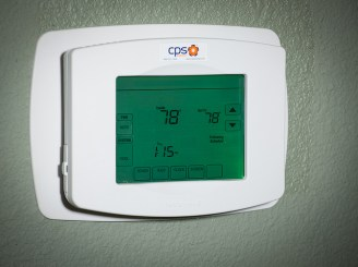 Keeping your thermostat at 78-80 when you're home will keep your a/c from working so hard.