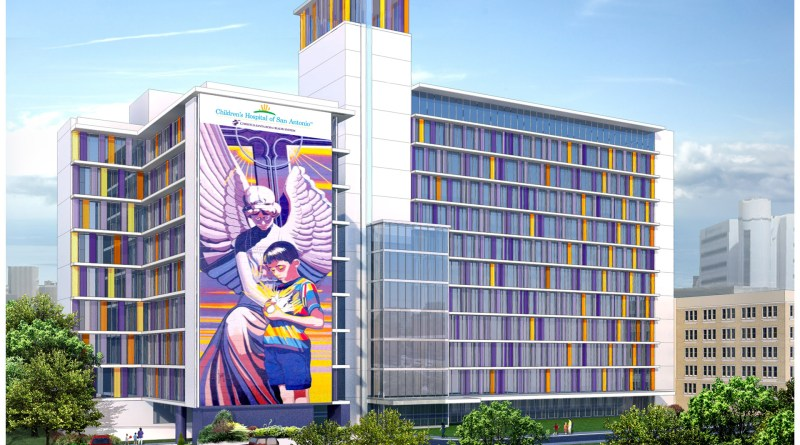 (Image) When completed, CHRISTUS Santa Rosa Health System's Children's Hospital will be the first