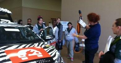 (Image) STEM, students, kids, electric vehicle