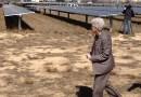 (Image) EPA Administrator Gina McCarthy tours the Centennial solar farm at SAWS' Dos Rios water treatment plant.