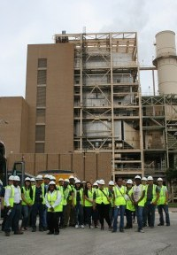 Interns at Calaveras Power Station