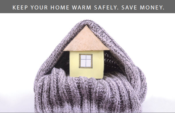 (Image) Keep Home Warm Safely