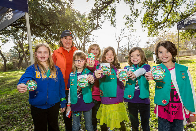 (Image) CPS Energy sponsors an annual environmental patch for the Girl Scouts of Southwest Texas