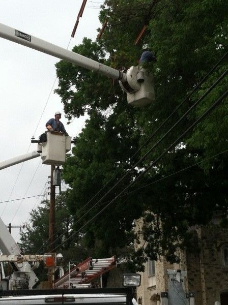 Power restoration on primary Apr 24, 2015
