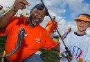 (Image) United Way fishing celebration