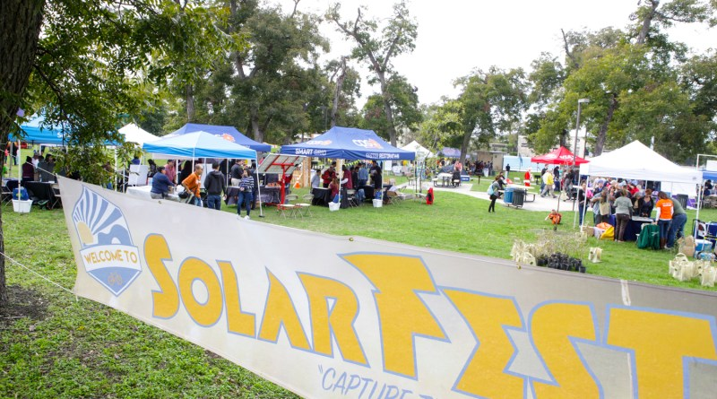 (Image) SolarFest banner tents bkgrnd