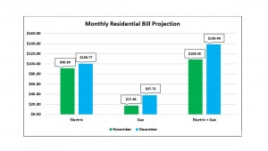 Monthly Bill Projection