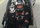 (Image) Scharf in a dragster