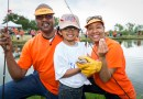 Volunteers at Kids Fish Day