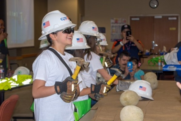 CPS Energy hosts SciGirls